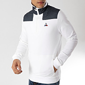 /achat-sweats-col-zippe/le-coq-sportif-sweat-col-zippe-tri-1910419-blanc-bleu-marine-165586.html