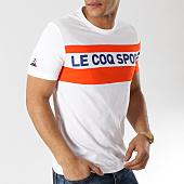 /achat-t-shirts/le-coq-sportif-tee-shirt-ess-saison-n3-1911303-blanc-orange-165588.html