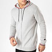 /achat-cardigans-gilets/le-temps-des-cerises-gilet-zippe-capuche-ted-gris-chine-165603.html