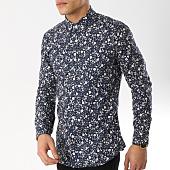 /achat-chemises-manches-longues/mtx-chemise-manches-longues-z211-bleu-marine-floral-165544.html
