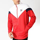 /achat-vestes/puma-veste-zippee-iconic-577980-rouge-blanc-bleu-marine-165638.html