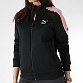 /achat-vestes/puma-veste-zippee-femme-avec-bandes-t7-578205-51-noir-rose-165666.html
