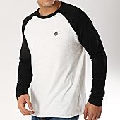 /achat-t-shirts-manches-longues/element-tee-shirt-manches-longues-blunt-blanc-noir-165825.html