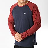 /achat-t-shirts-manches-longues/element-tee-shirt-manches-longues-blunt-bleu-marine-bordeaux-165826.html