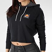 /achat-sweats-capuche/ellesse-sweat-capuche-cropped-femme-noir-165767.html