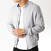 /achat-bombers/frilivin-bomber-qq532-gris-chine-blanc-165742.html