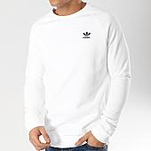 /achat-sweats-col-rond-crewneck/adidas-sweat-crewneck-essential-dv1599-blanc-165930.html