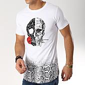 /achat-t-shirts-longs-oversize/berry-denim-tee-shirt-oversize-jak-085-blanc-noir-serpent-165880.html