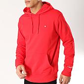 /achat-sweats-capuche/calvin-klein-sweat-capuche-0497-rouge-165922.html