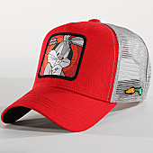 /achat-trucker/looney-tunes-casquette-trucker-bugs-bunny-rouge-gris-165910.html