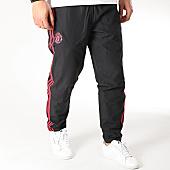 /achat-pantalons-joggings/adidas-pantalon-jogging-avec-bandes-manchester-united-cw7633-noir-rouge-165940.html