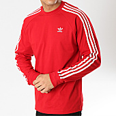 /achat-t-shirts-manches-longues/adidas-tee-shirt-manches-longues-3-stripes-dv1558-rouge-blanc-166029.html
