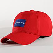 /achat-casquettes-de-baseball/calvin-klein-casquette-4562-rouge-165993.html