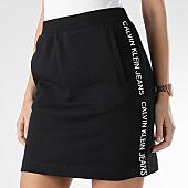 /achat-jupes/calvin-klein-jupe-femme-avec-bandes-side-logo-0378-noir-166033.html