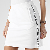 /achat-jupes/calvin-klein-jupe-femme-avec-bandes-side-logo-0378-blanc-166035.html