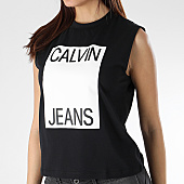 /achat-t-shirts/calvin-klein-tee-shirt-femme-muscle-0509-noir-blanc-166047.html