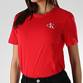 /achat-t-shirts/calvin-klein-tee-shirt-femme-monogram-embroidery-0581-rouge-166053.html