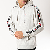 /achat-sweats-capuche/fila-sweat-capuche-avec-bandes-david-tape-687023-gris-chine-165972.html