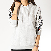 /achat-sweats-capuche/fila-sweat-capuche-femme-bandes-brodees-clara-687073-gris-chine-166004.html