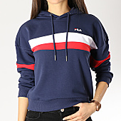 /achat-sweats-capuche/fila-sweat-capuche-femme-ella-687079-bleu-marine-rouge-blanc-166005.html