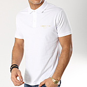 /achat-polos-manches-courtes/versace-jeans-polo-manches-courtes-b3gtb7p7-36610-blanc-dore-166085.html