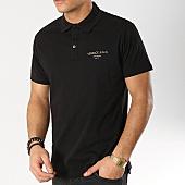 /achat-polos-manches-courtes/versace-jeans-polo-manches-courtes-b3gtb7p7-36610-noir-166086.html