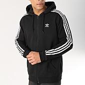 /achat-sweats-zippes-capuche/adidas-sweat-zippe-capuche-3-stripes-dv1551-noir-blanc-166125.html