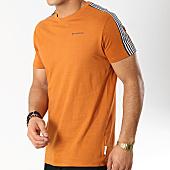/achat-t-shirts/bellfield-tee-shirt-avec-bandes-kempsey-marron-166201.html