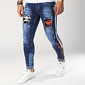 /achat-jeans/classic-series-jean-slim-avec-bandes-6061-k-bleu-brut-166165.html