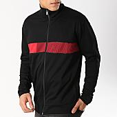 /achat-vestes/hugo-by-hugo-boss-veste-zippee-dalais-50405942-noir-bordeaux-166144.html