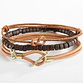/achat-bracelets/icon-brand-lot-de-3-bracelets-reconnaissance-combo-marron-camel-166110.html
