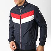 /achat-vestes/schott-nyc-veste-zippee-cabl12st-bleu-marine-rouge-blanc-166159.html