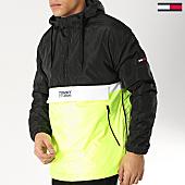 /achat-vestes/tommy-hilfiger-jeans-veste-outdoor-color-block-popover-5429-noir-jaune-fluo-blanc-166152.html