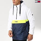 /achat-vestes/tommy-hilfiger-jeans-veste-outdoor-color-block-popover-5429-bleu-marine-blanc-jaune-fluo-166153.html