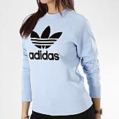 /achat-sweats-col-rond-crewneck/adidas-sweat-crewneck-femme-du9881-bleu-clair-166330.html