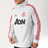 /achat-sweats-col-zippe/adidas-sweat-col-zippe-manchester-united-warm-top-dp6830-gris-166393.html