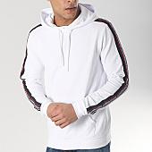 /achat-sweats-capuche/antony-morato-sweat-capuche-avec-bandes-mmfl00496-blanc-166275.html