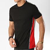 /achat-t-shirts/antony-morato-tee-shirt-avec-bandes-mmks01449-gris-chine-noir-rouge-166285.html