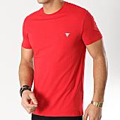/achat-t-shirts/guess-tee-shirt-m92i04j1300-rouge-166481.html