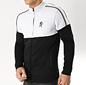 /achat-vestes/gym-king-sweat-zippe-1154-noir-gris-chine-166418.html