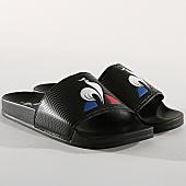 /achat-claquettes-sandales/le-coq-sportif-claquettes-slide-logo-1911133-noir-166309.html