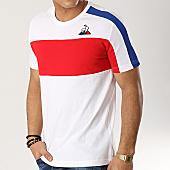 /achat-t-shirts/le-coq-sportif-tee-shirt-n6-1911120-blanc-rouge-bleu-marine-166457.html