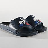 /achat-claquettes-sandales/le-coq-sportif-claquettes-slide-logo-1911134-bleu-marine-166463.html