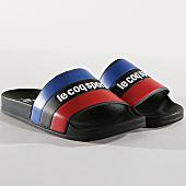 /achat-claquettes-sandales/le-coq-sportif-claquettes-slide-tricolore-1911137-noir-bleu-marine-rouge-166468.html