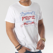 /achat-t-shirts/pepe-jeans-tee-shirt-45th-blanc-166254.html