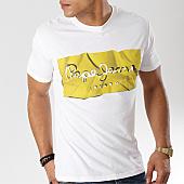 /achat-t-shirts/pepe-jeans-tee-shirt-raury-blanc-jaune-166266.html