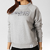 /achat-sweats-col-rond-crewneck/reebok-sweat-crewneck-femme-iconic-fleece-dt7276-gris-chine-166433.html