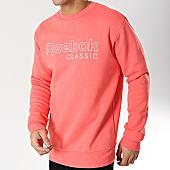 /achat-sweats-col-rond-crewneck/reebok-sweat-crewneck-classic-fleece-dt8138-corail-166436.html