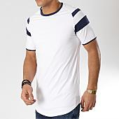/achat-t-shirts-longs-oversize/terance-kole-tee-shirt-oversize-98216-1-blanc-bleu-marine-166314.html