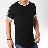 /achat-t-shirts-longs-oversize/terance-kole-tee-shirt-oversize-avec-bandes-98218-2-noir-166355.html